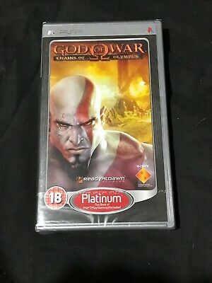 Sealed New God of War: Chains of Olympus (Sony PSP, )
