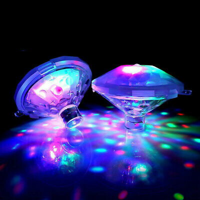 Underwater LED Disco Lights Glow Show Swimming Pool Hot Tub
