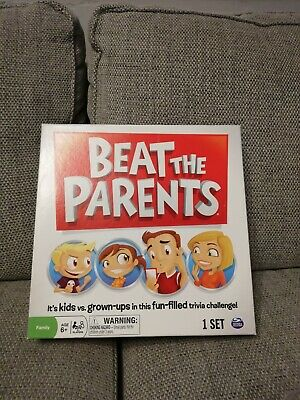 Beat The Parents Board Game Spin Master Complete