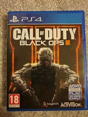 Call of Duty: Black Ops III (Sony PlayStation )
