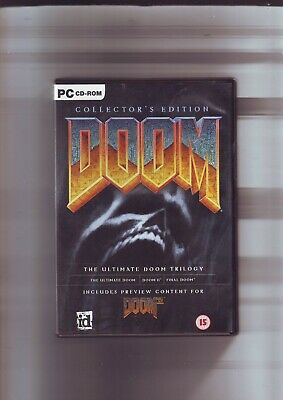 DOOM COLLECTOR'S EDITION - THE TRILOGY ULTIMATE DOOM, DOOM