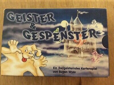Geister & Gespenster Pocket Card Game, Used But Great