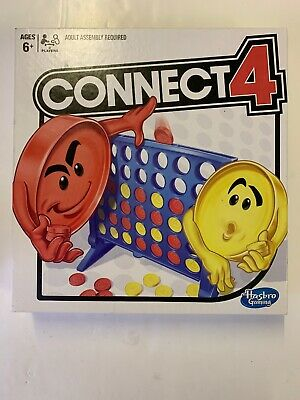 Hasbro Connect Four 4 Game Toy Childrens Kids Family Adults