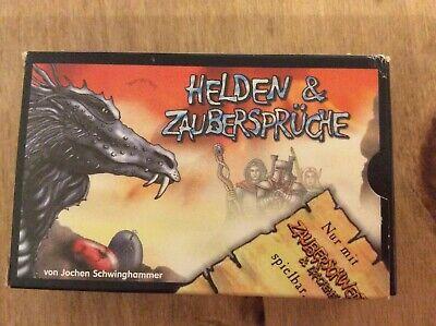 Helden & Zauberspruche Pocket Strategy Card Game, Used But