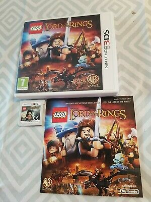 LEGO The Lord of the Rings (Nintendo 3DS, ) – Very