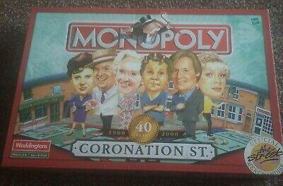 Monopoly Coronation Street Edition by Waddingtons 40 Years