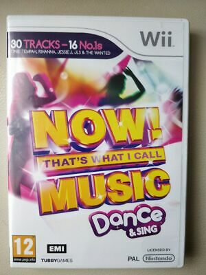 NOW! THATS WHAT I CALL MUSIC DANCE & SING - NINTENDO WII -