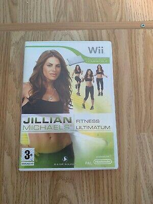 Nintendo Wii - Jillian Michaels - Fitness Ultimatum (,
