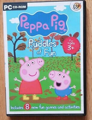 Pc Cd Rom Game Peppa Pig Puddles Of Fun
