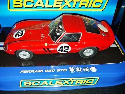 SCALEXTRIC C FERRARI 250 GTO NO 42 MONZA  BNIB