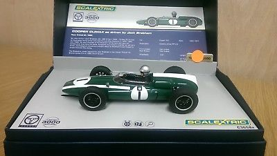 SCALEXTRIC CA Legends Jack Brabham Cooper Climax Ltd