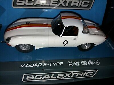 SCALEXTRIC Slot Car C Jaguar E Type  Bathurst No.9