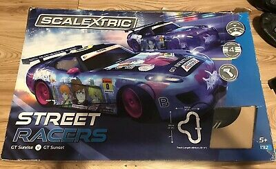 Scalextric 1:32 Street Racers Set 2x GT Anime Cars