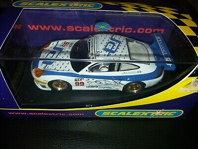 Scalextric 1:32 sc Boxed Slot Car. C. Porsche 911 GT3R.