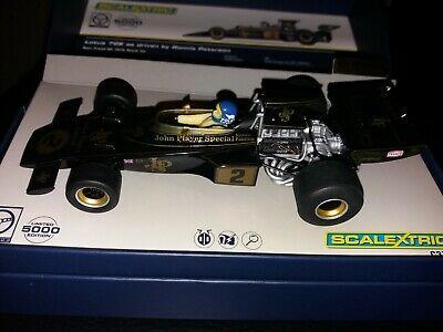 Scalextric - CA JPS Team Lotus 72 (black/gold) - NEW, &