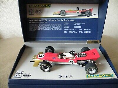 Scalextric Legends Team Lotus Type 49b as driven by Graham