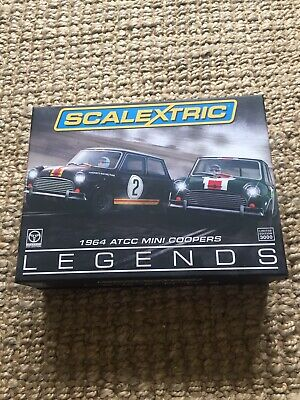 Scalextric Ltd Edition ATCC Legends Mini Cooper set C