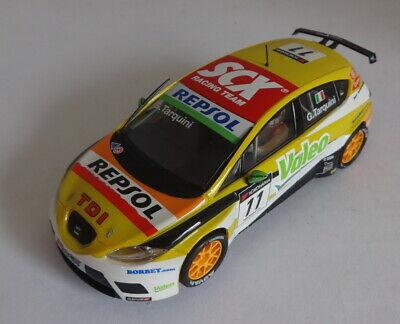 Scalextric SCX  Seat Leon WTCC #11 G Tarquini Ltd. Ed