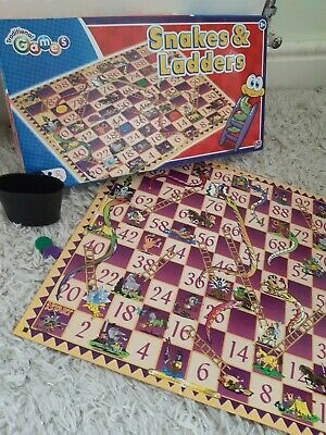 Traditional Games Snakes and Ladders Childrens Board game
