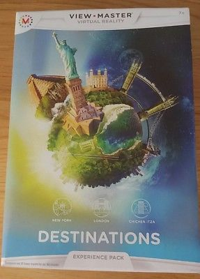 View Master DESTINATIONS Virtual Reality Experience