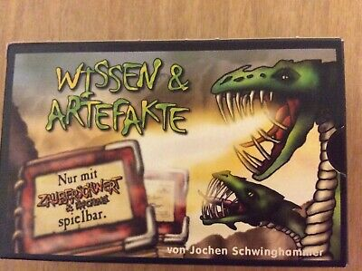 Wissen & Artefakte Pocket Strategy Card Game, Used But Great