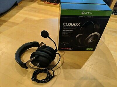 HyperX HX-HS5CX-SR CloudX Gaming Headset For Xbox One Silver