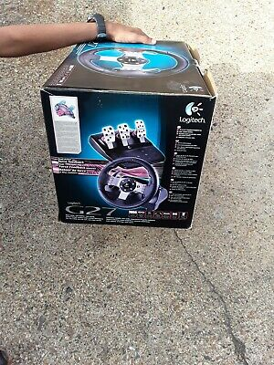 Logitech G27 Steering Wheel and Pedals for Video Game -