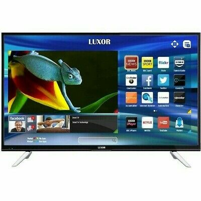 Luxor 49 Inch SMART 4K Ultra HD LED TV Freeview Play