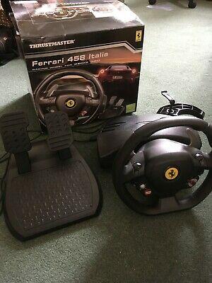 Thrustmaster Ferrari 458 Italia Racing Wheel for Xbox 360,