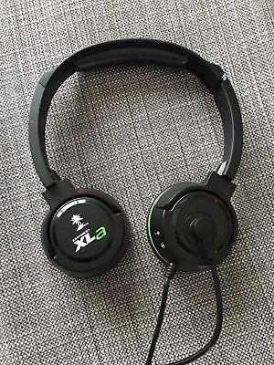 Turtle Beach EAR FORCE XLA Black/Green Gaming Headset Xbox