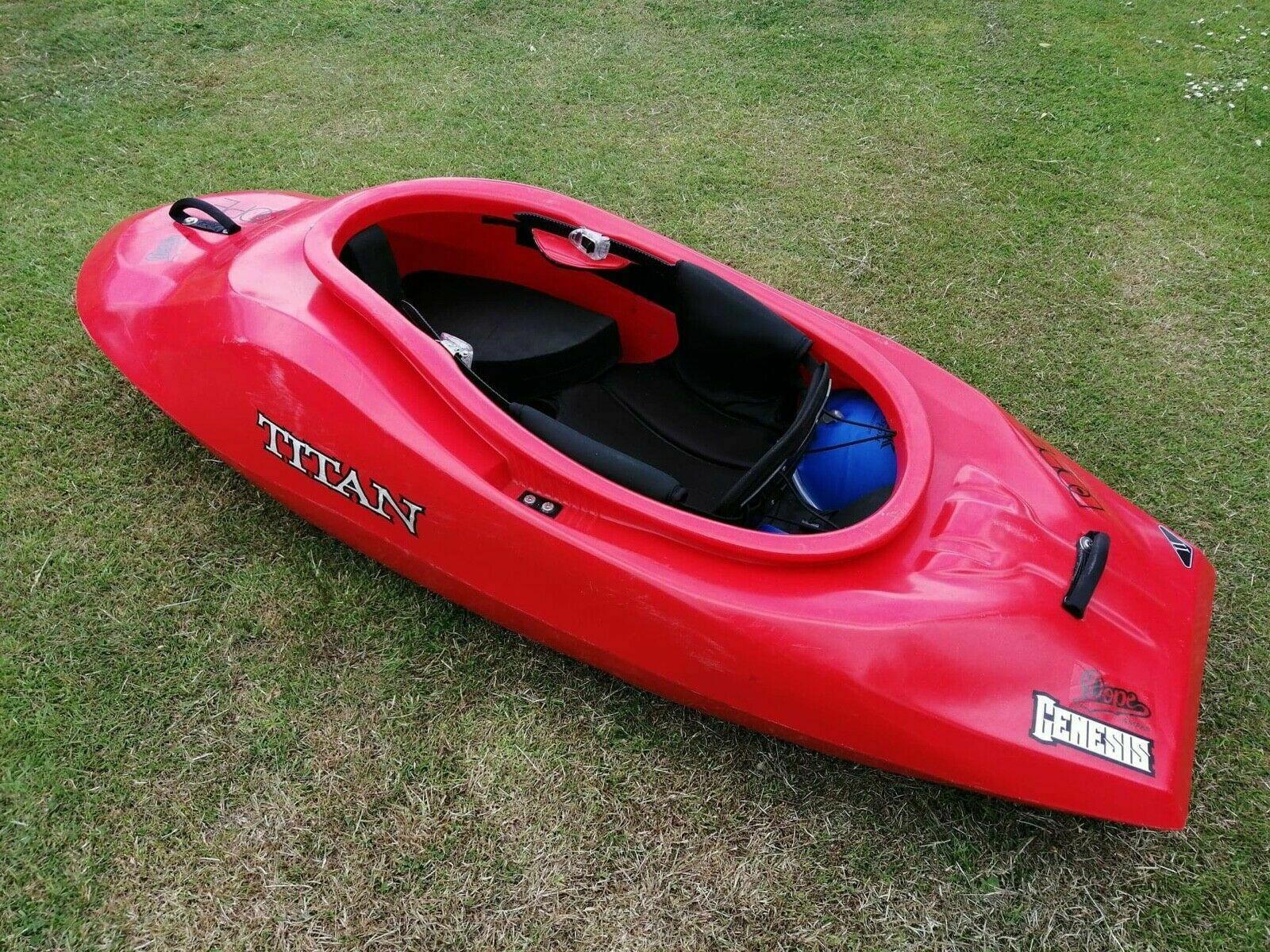 Titan Kayaks Genesis VII Play Boat Freestyle River Surf Sea