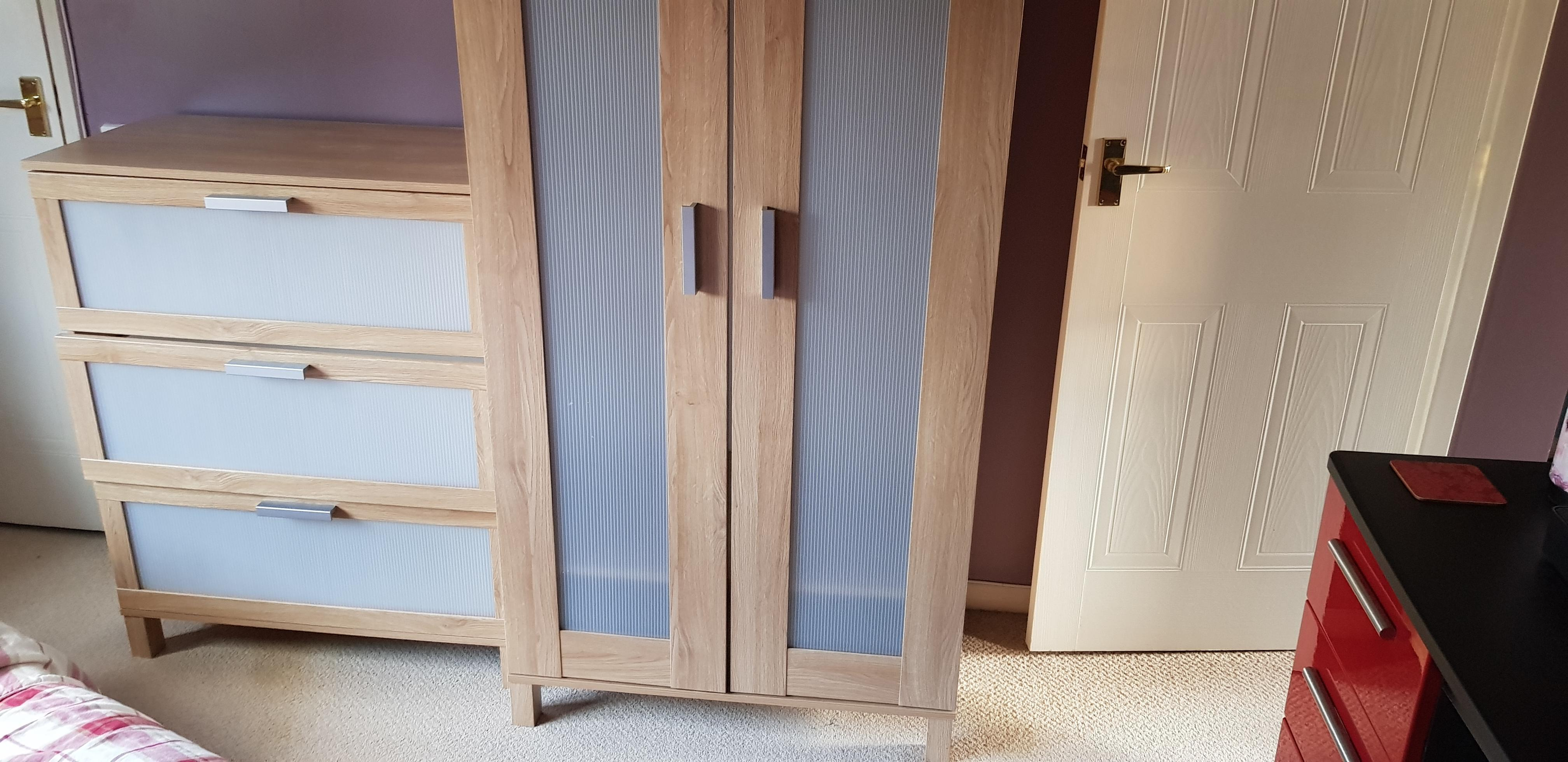 Wardrobe and Draws for sale