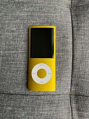 iPod Nano. Gold. 4th Gen, 16 GB. Good condition