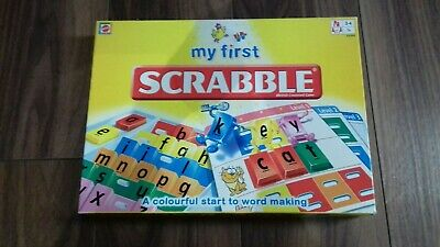 My First Scrabble Kids Board Game.