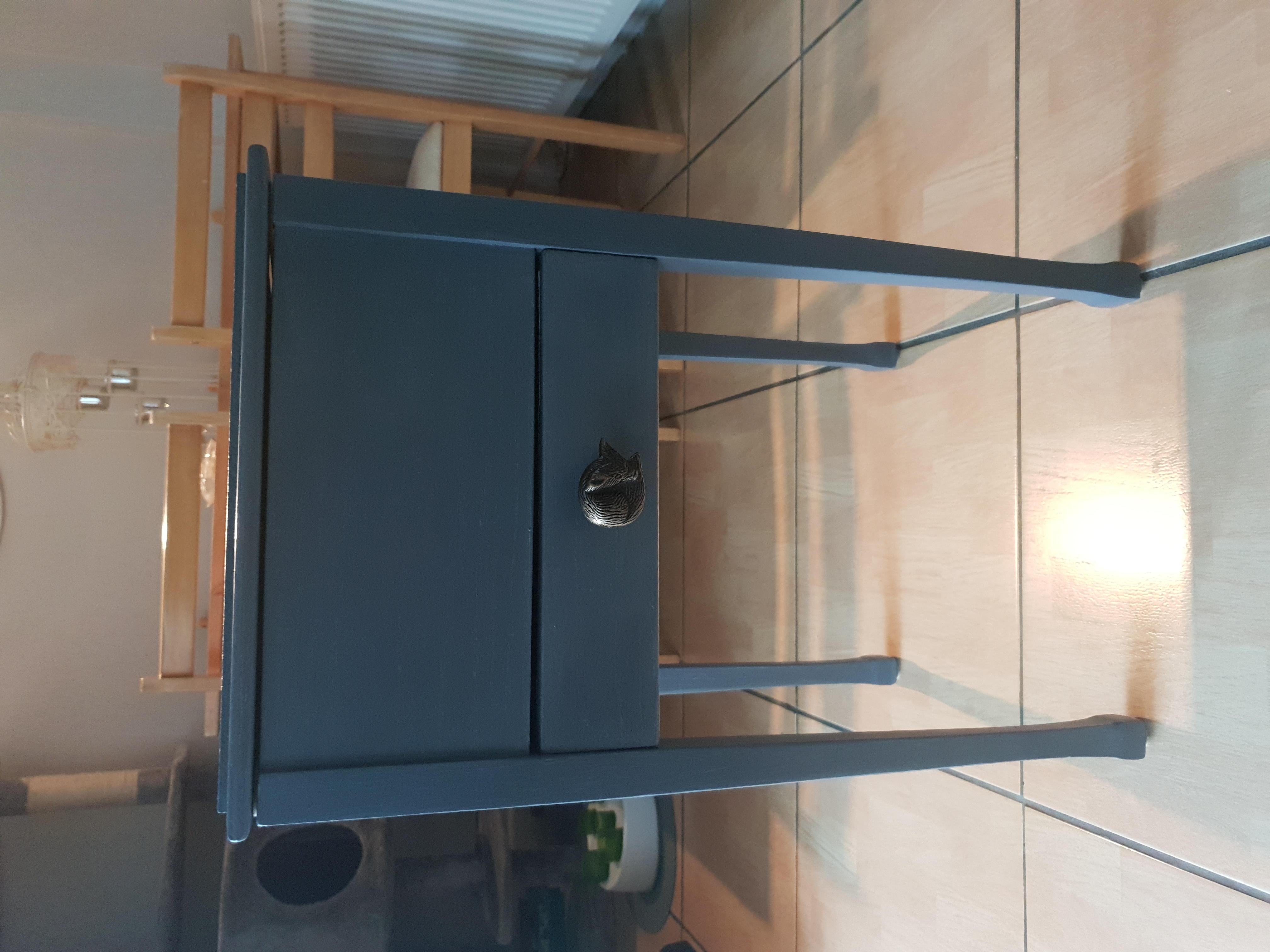 Refurbished wooden cabinet