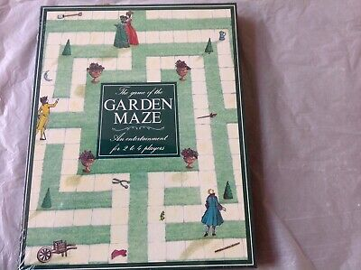 The Garden Maze Board Game by Oxford Games for 2 to 4