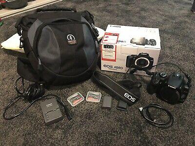 Canon EOS 400D 10.1MP Digital SLR Camera - Black (Body
