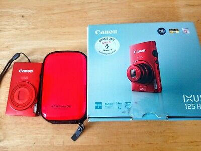 Canon IXUS 125 HS / PowerShot Digital ELPH 110 HS 16.1MP