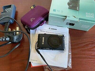 Canon IXUS 220 HS / PowerShot ELPH 300 HS 12.1MP Digital