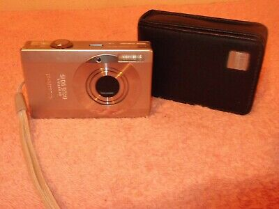 Canon IXUS  Compact Digital Camera with Zoom Lens