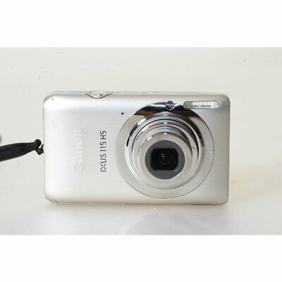 Canon Ixus 115 Hs Digital Camera in Silver/12.1MP Digital