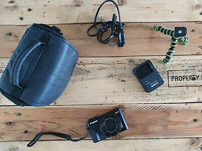 Canon PowerShot G7 X Mark II Digital Camera w/ accessories