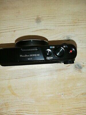 Canon PowerShot Sx720 HS 20.3 MP Digital Camera - Black