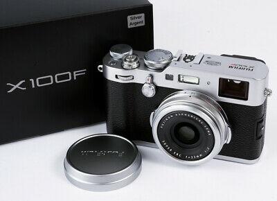 Fujifilm X100f Professional Digital Compact Camera - Silver