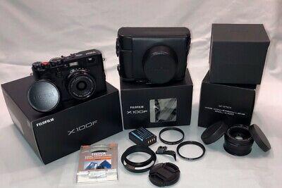 Fujifilm X100f Professional Digital Compact Camera with many