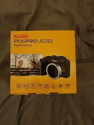 Kodak PIXPRO AZ252 Bridge Digital Camera 16MP 25x Zoom Black