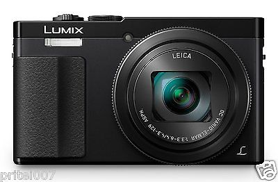 New Panasonic Lumix DMC-TZ70EB-K Compact WIFI FULL HD