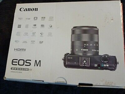 New condition Canon EOS M 18.0MP Digital Camera with EF-S