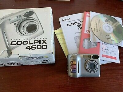 Nikon COOLPIX MP Digital Camera - Silver. Free