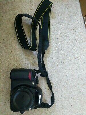 Nikon D D Digital SLR Camera - Black (Kit w/ VR mm